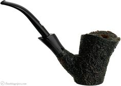 Castello Sea Rock Briar Cherrywood (GL) -- The craggy Sea Rock rustication here is hitched up with a wild, rolling rim of natural plateau, perched at a towering height, as well as one of Castello's signature, smoothly muscular transition/shanks, and a flourishing mount. The result is a dark and dramatic aesthetic - though also a solid sitter, with loads of chamber. - Eric N. Squires