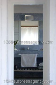 grey bathroom sink  www.martingomezarquitectos.com
