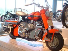 cushman scooters | File:Cushman scooter orange.jpg - Wikipedia, the free encyclopedia