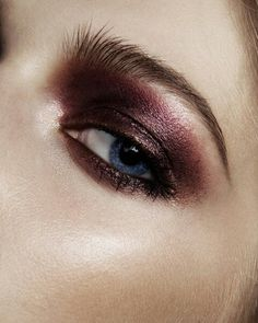 How to: Stunning Marsala eye shadow palette.