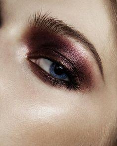 How to: Stunning Marsala eye shadow palette.