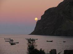 SUPER LUNA 2012 Lester Acuña desde Robinson Crusoe, Región de Valparaíso