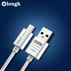 Elough 2.1A 1m 2m 3m Long Usb Charger Micro USB Cable For iPhone 7 5 5s 6 6s i5 i6 Mobile Phone Charging Cable * Read more  at the image link.