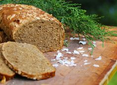 receta-pan-cafe-coco-cherrytomate-02 Yeast Bread, Healthy Recipes, Healthy Food, Muffin, Coconut, Sweets, Coffee, Google Translate, Noodle