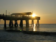 Tybee Island, Georgia - love to go on walks with friends/family in the late afternoon!