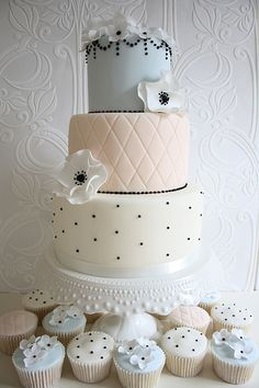 Peach and cream by Cotton and Crumbs ♥ Waheh Bastion Post Modern Wedding  Event Venue Atlanta, GA http//:www.waheh.com info@waheh.com