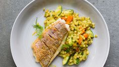 http://www.saveur.com/israeli-cous-cous-with-ras-el-hanout-fennel-carrot-middle-eastern-recipe