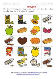 intrusos arassac-4 Autism Classroom, Spanish Classroom, Autism Activities, Activities For Kids, Co Teaching, Preschool Worksheets, Matching Games, Special Education, Alphabet