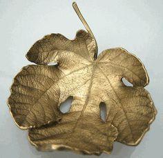 Michael Michaud - Table Art - Small Fig Leaf Dish