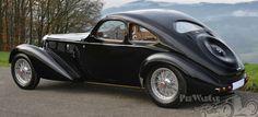 Bugatti Type 57 Guillore of Paris 1938