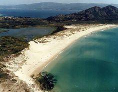 El Tiempo en las playa de Area Maior