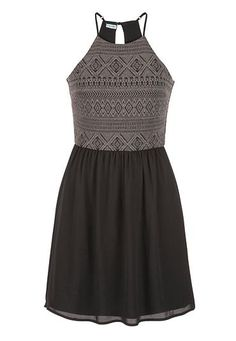 dress with high neck