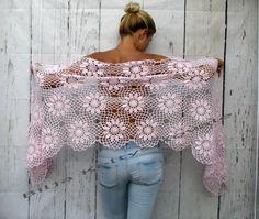 Damen Accessoires baby rosa Baumwolle 100 %... Schal von kovale
