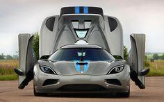 Koenigsegg, all unbuttoned