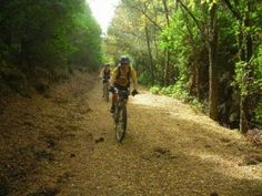 Percorso mountainbike crosscountry XC, Santa Barbara