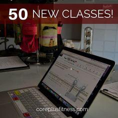 It all starts today. 50 New Classes!! #megaformer #CorePlusFitness #oclife #orangecounty #lagree #lagreefitness #newclasses #Fitness #mondaymotivation #fitnesslifestyle #fitforlife