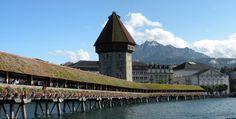 Chapel Bridge Lucerne Switzerland | World of DMCs | www.world-of-dmcs | #travel #events