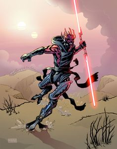 New & Improved Darth Maul Star Wars Concept Art, Star Wars Fan Art, Darth Maul, Star Wars Characters, Star Wars Episodes, Star Wars Sith, Clone Wars, Star Trek, Disneysea Tokyo