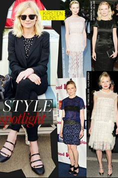 Kristen Dunst. Always fashionable. Love her!