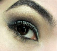Blue Eye Shadow for Brown Eyes!