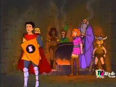 Caverna do Dragão - Episodio 1 - Completo - Dublado