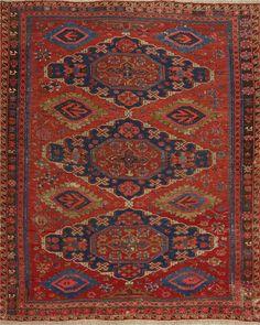 Matt Camron Rugs & Tapestries Antique  Sumak Rug