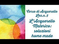 Corso di Acquerello,Lez.n.6 La Mascheratura: alternative valide ai Fluidi in commercio-Arte per Te - YouTube