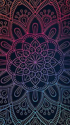 Phone Wallpaper Boho, Butterfly Wallpaper, Cellphone Wallpaper, Colorful Wallpaper, Galaxy Wallpaper, Wallpaper Backgrounds, Wallpaper Quotes, Mandala Drawing, Mandala Painting