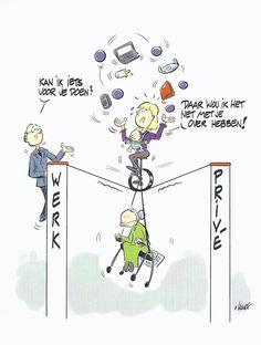 Kun jij alle ballen in de lucht houden? Praat met je leidinggevende over werken in balans.