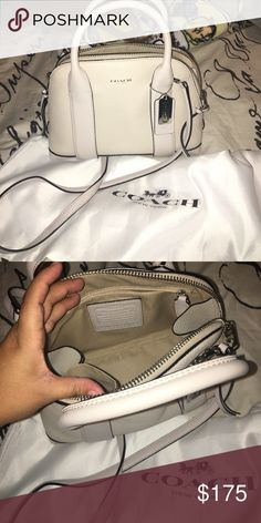 Coach Like new crossbody with long strap no stains Coach Bags Crossbody Bags