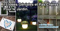 idées de décoration et d'aménagement originales et économiques pour le jardin