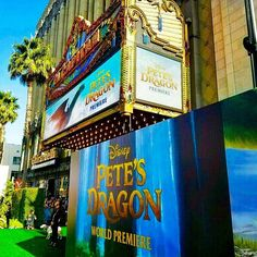 We are LIVE at the #petesdragon #redcarpet! Follow us on snapchat (regalmovies) and Facebook Live for behind the scenes action!