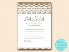 date night idea card date jar card printable by MagicalPrintable