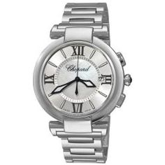 Chopard Women's 'Imperiale' Mother of Pearl Dial Stainless Steel Water-Resistant Watch