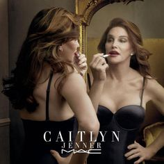 Caitlyn Jenner Flaunts Ample Cleavage in MAC Cosmetics Campaign for Finally Free Lipstick to Support the Transgender Community on I Am Cait | E! Online