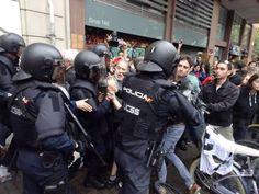 La Fiscalia avala la repressió policial contra el referèndum
