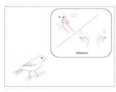 oiseau LSF illustration
