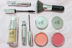 Slashed Beauty Master the no-makeup makeup look with the new +e. Elf Makeup, Makeup Tips, Beauty Makeup, Hair Beauty, Beauty 101, Eyes Lips Face, Face Skin, Face And Body, Drugstore Makeup Dupes