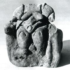 THE FERTILITY GODDESS, CATAL HUYUK, TURKEY, 6000 BPE