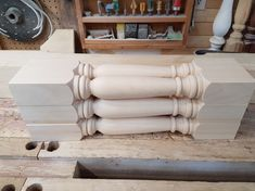 These are our #7 pattern for spindles/balusters. Wood, Pattern, Woodwind Instrument, Timber Wood, Patterns, Trees, Model, Swatch