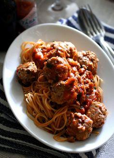 sardinetball spaghetti | pasta