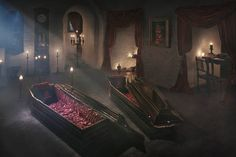 Il Castello di Dracula in Transilvania.