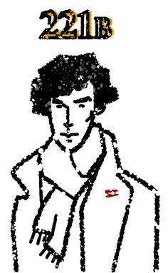NHK「シャーロックホームズ130年サイト」掲載 SHERLOCK  Benedict Cumberbatch