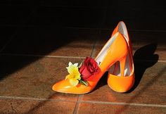 loved these orange shoes!