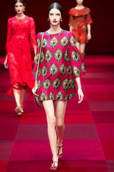Just you: Dolce & Gabbana, Spring-Summer 2015, Milán Fashion Week, Parte II