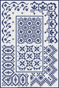 Free Easy Cross, Pattern Maker, PCStitch Charts + Free Historic Old Pattern Books: Sajou No 657