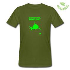 T-Shirt aus ökologischer Herstellung, für Männer, 100% Baumwolle, Marke: Continental.