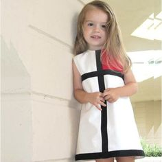 Sewing for kids clothes little girl dresses simple 22 ideas Kids Outfits Girls, Little Dresses, Little Girl Dresses, Kids Girls, Cute Dresses, Girl Outfits, Girls Dresses, 1960s Dresses, Summer Girls