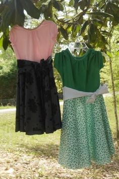 Tutorials for Girls - 14 skirts, 3 Dresses : Kensington Cottage
