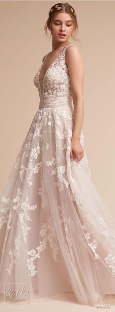 Wedding Dresses : Wedding Dress by BHLDN - #weddingdresses https://talkfashion.net/wedding/wedding-dresses/wedding-dresses-wedding-dress-by-bhldn-26/